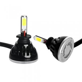 Ideapro LED Headlight Bulbs Conversion Kit All-in-one - 40W - 6000K - LED Headlight Car Motorcycle Conversion Bulb - Fog Light Bulbs (H1)