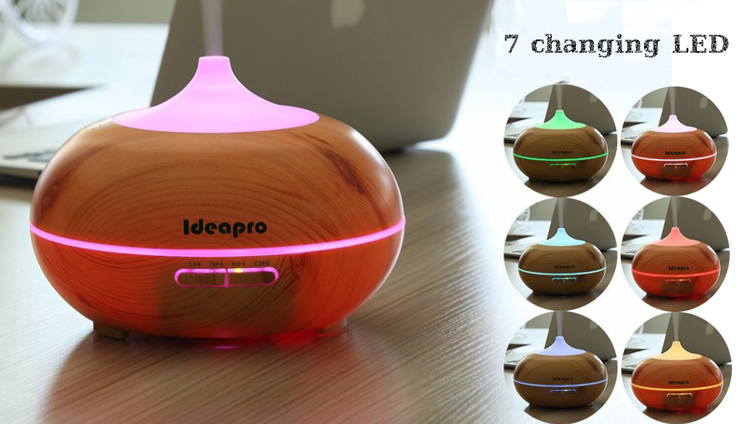 Ideapro 350ml Aroma Essential Oil Diffuser